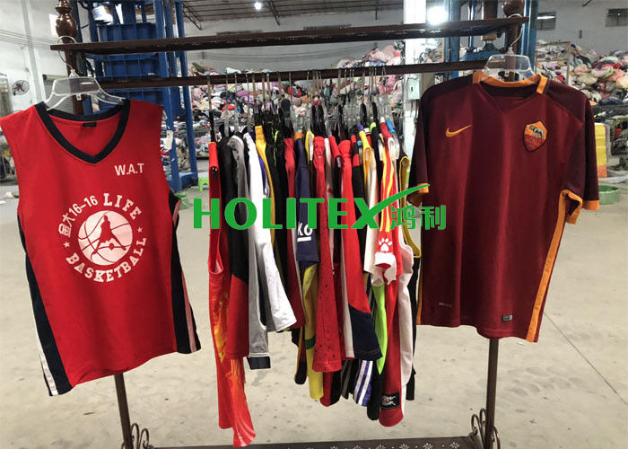 High Grade Used Summer Clothes Korean Style Second Hand Sports Uniforms